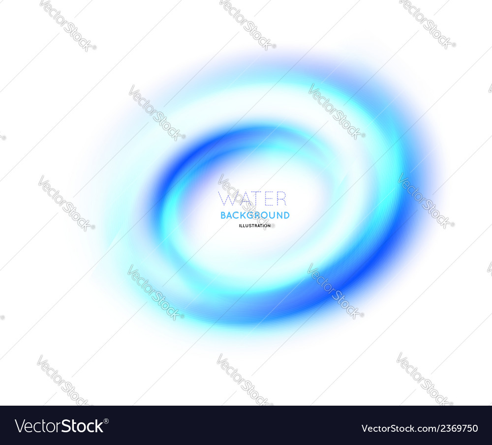 Water swirl background vector | Price: 1 Credit (USD $1)