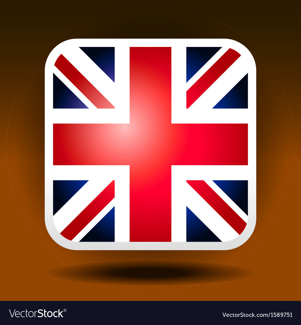 England flag ios icon style vector | Price: 1 Credit (USD $1)