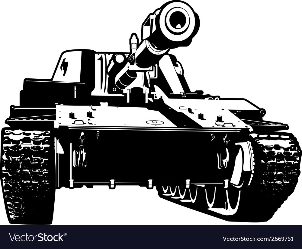 Heavy tank vector