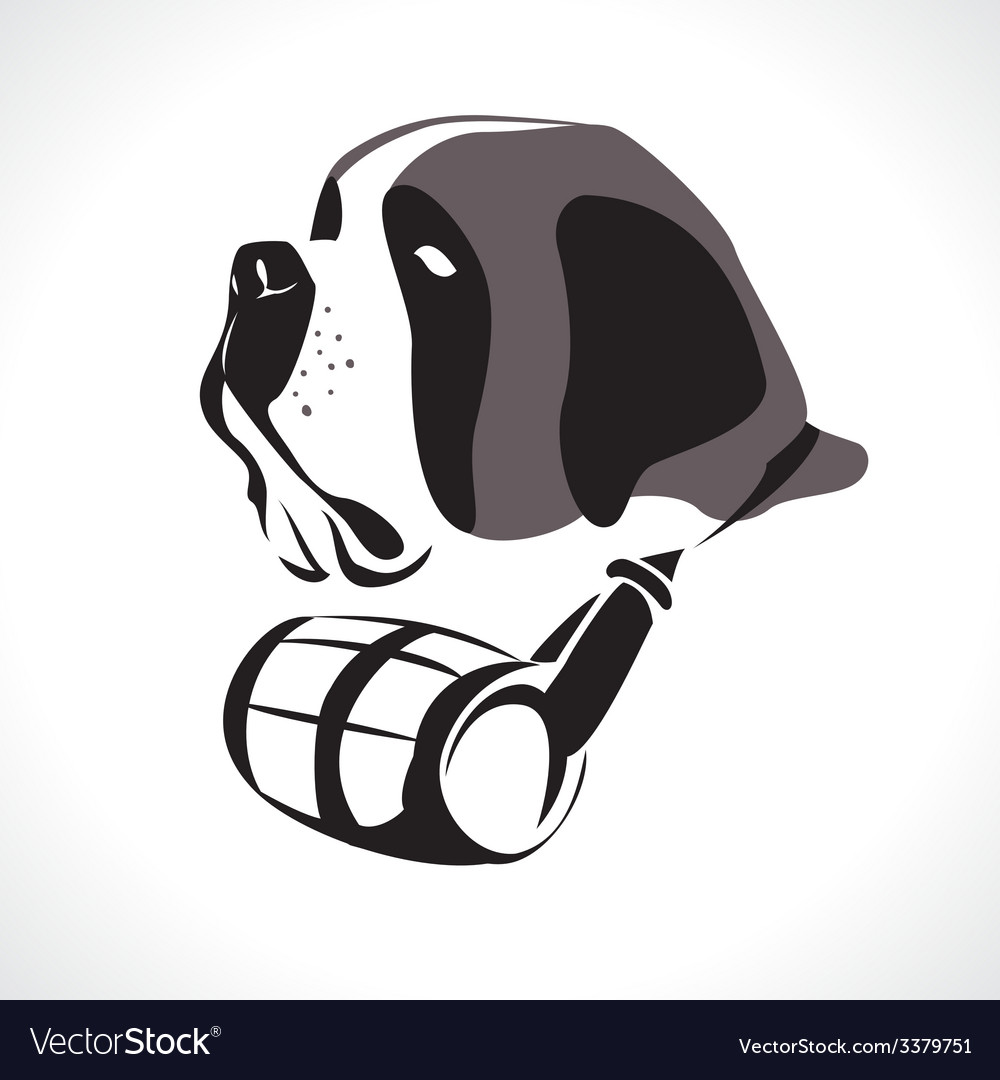 Saint bernard vector | Price: 1 Credit (USD $1)