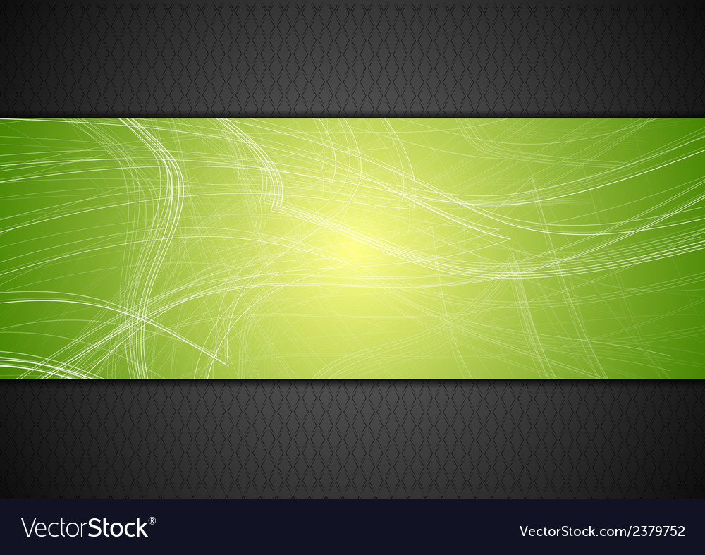 Abstract tech background with lines vector | Price: 1 Credit (USD $1)
