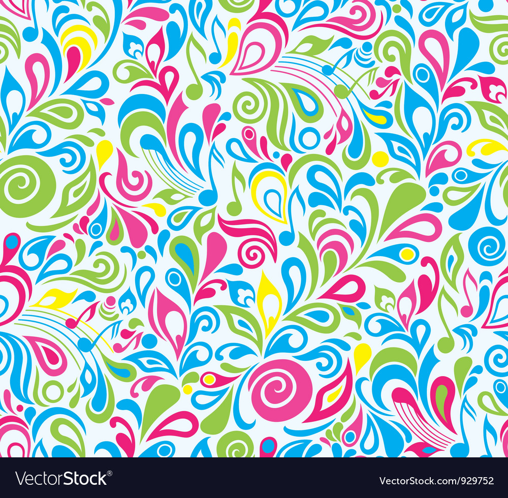 Colorful musical background vector | Price: 1 Credit (USD $1)