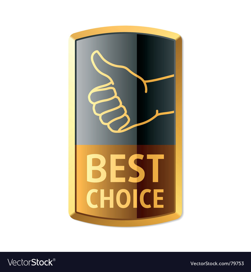 Best choice vector | Price: 1 Credit (USD $1)