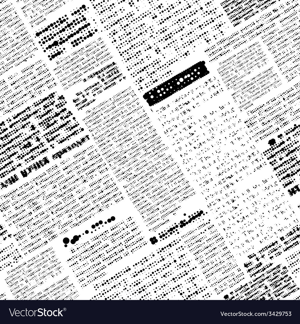 Imitation of newspaper vector | Price: 1 Credit (USD $1)