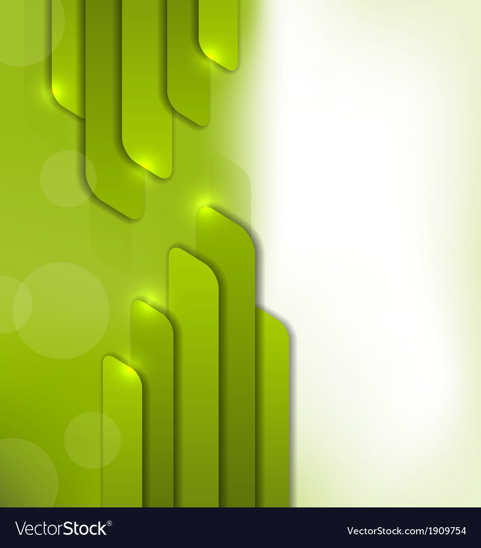 Abstract green background trendy colorful card vector | Price: 1 Credit (USD $1)