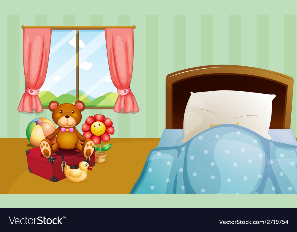 Children bedroom vector | Price: 1 Credit (USD $1)