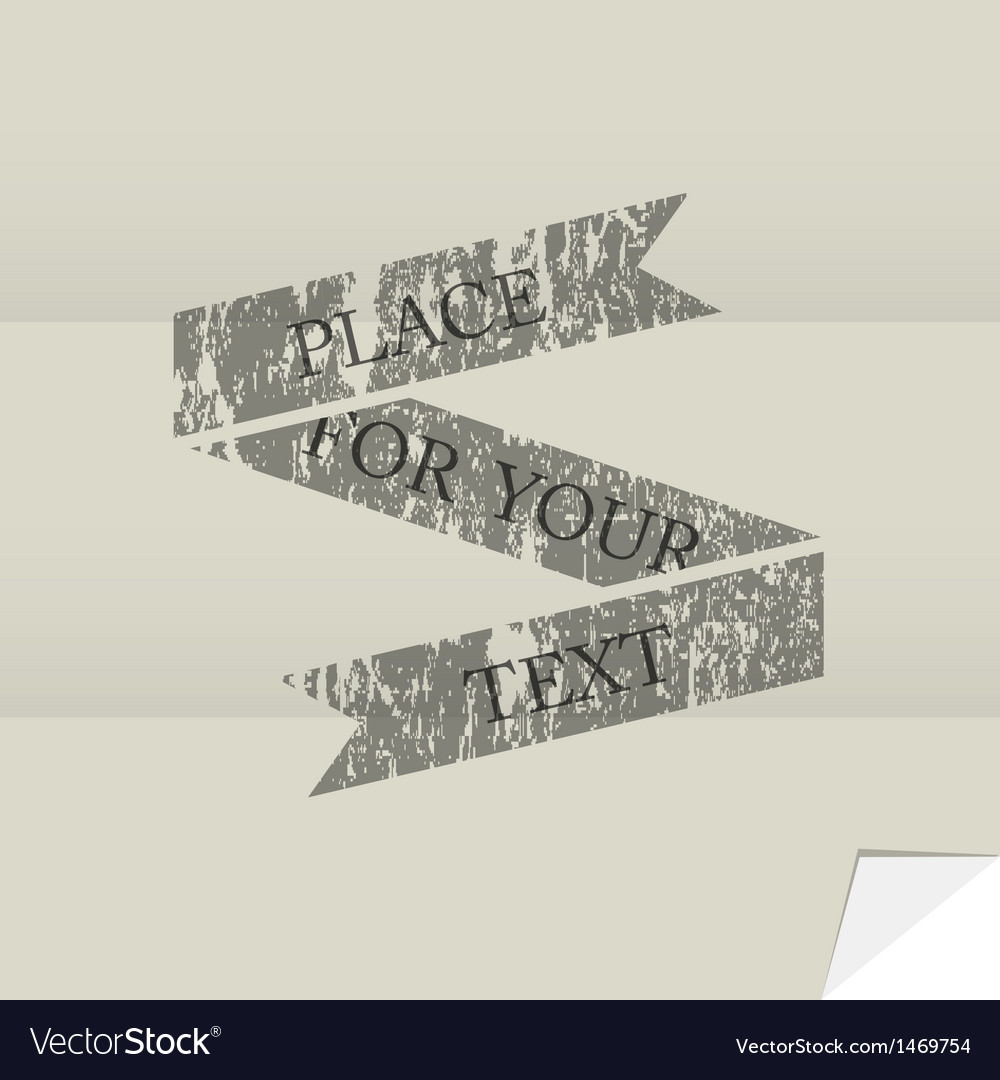 Grunge banner vector   Price: 1 Credit (USD $1)