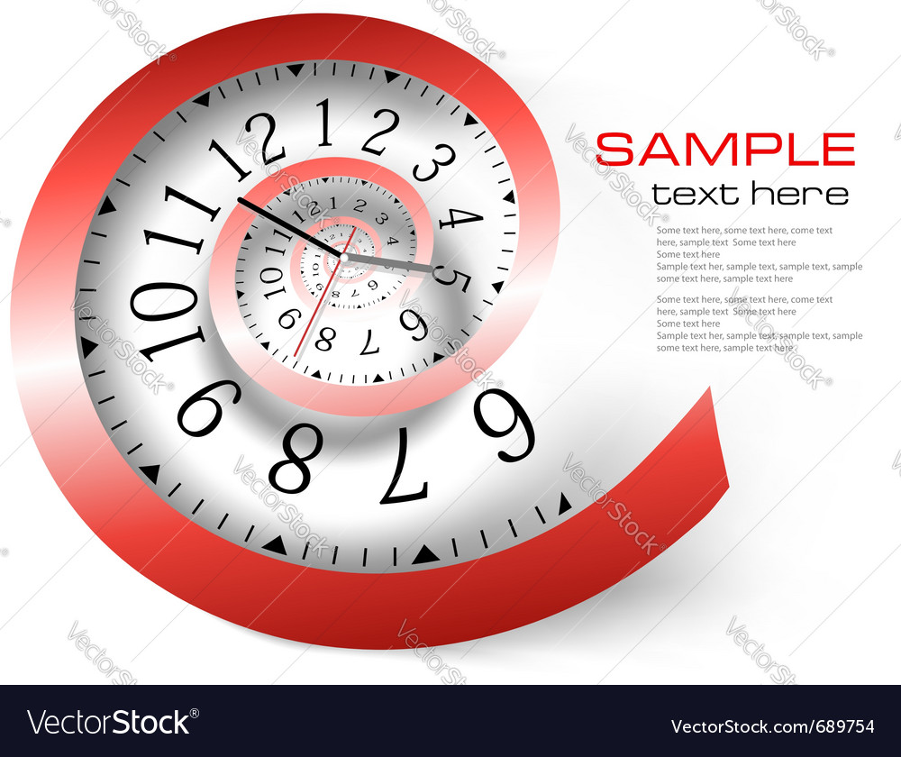 Infinity time background vector | Price: 1 Credit (USD $1)