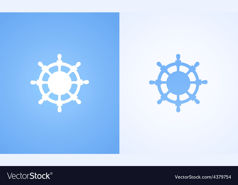 Logo of steering wheel vector | Price: 1 Credit (USD $1)