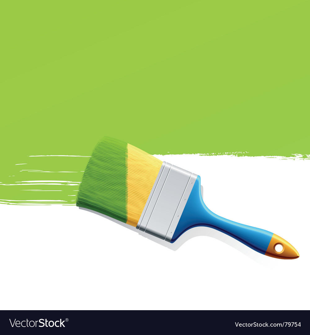 Paintbrush vector | Price: 3 Credit (USD $3)