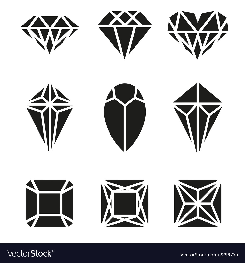 Diamond icon vector | Price: 1 Credit (USD $1)