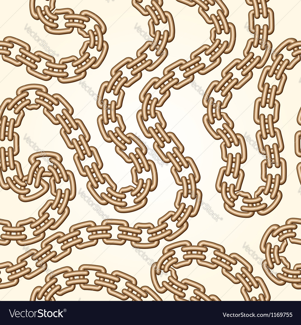 Gold chains pattern vector | Price: 1 Credit (USD $1)