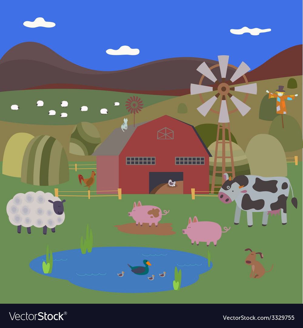 Rural vector   Price: 1 Credit (USD $1)