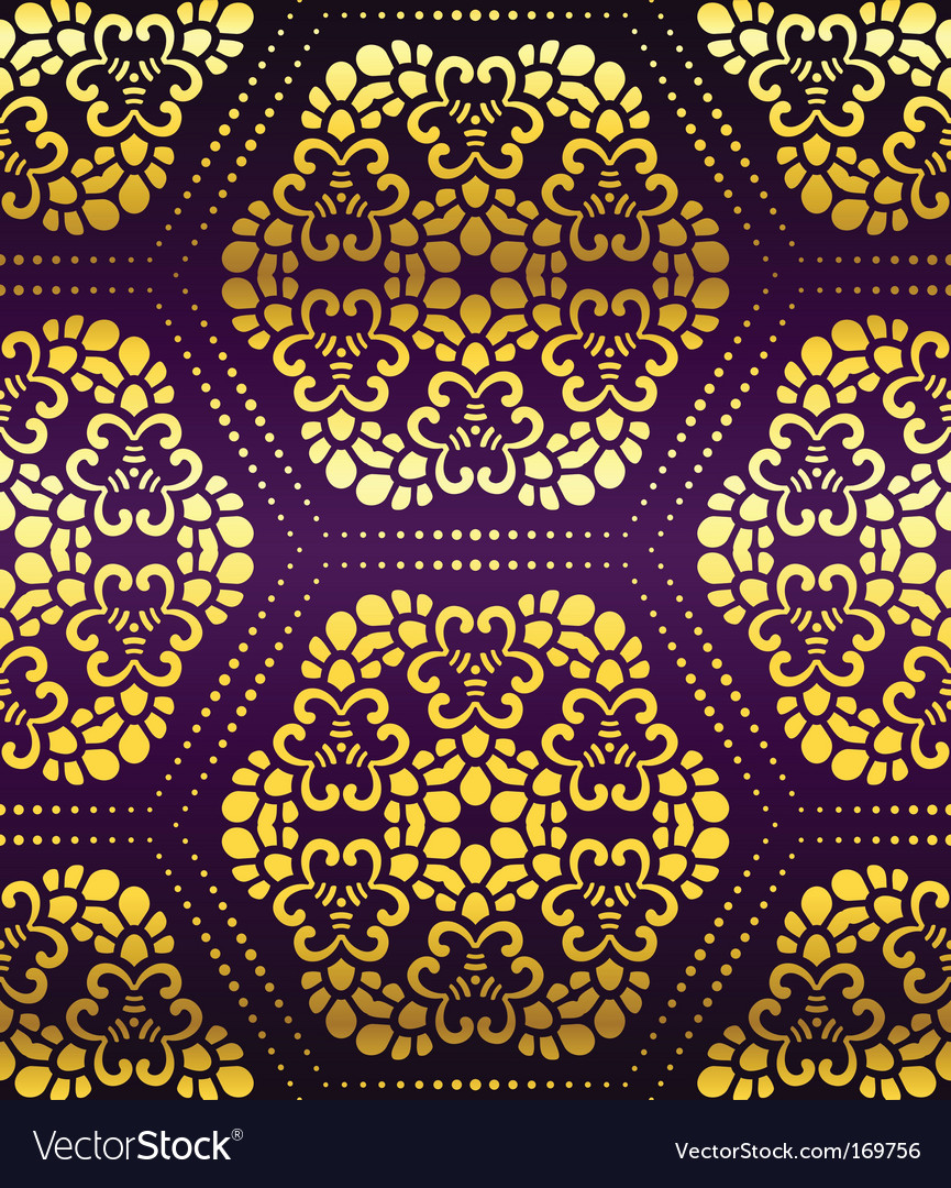 Artistic wallpaper pattern vector | Price: 1 Credit (USD $1)