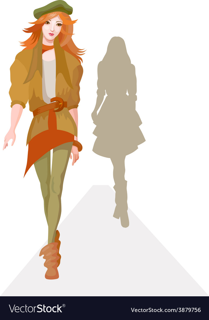 Fashion show vector | Price: 1 Credit (USD $1)