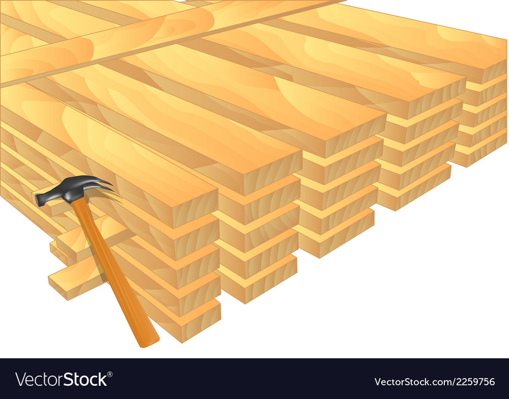 Lumber vector | Price: 1 Credit (USD $1)