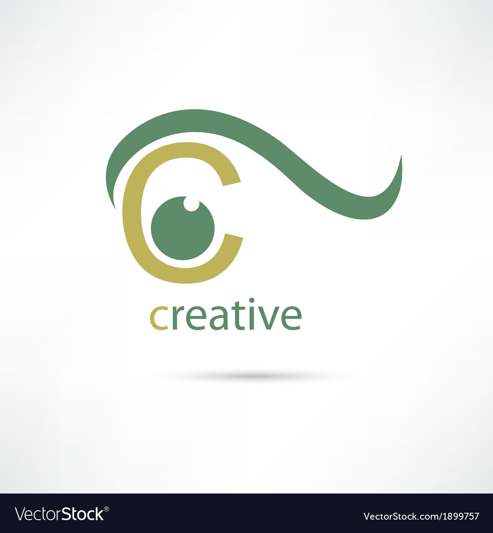 Creative eye icon vector | Price: 1 Credit (USD $1)