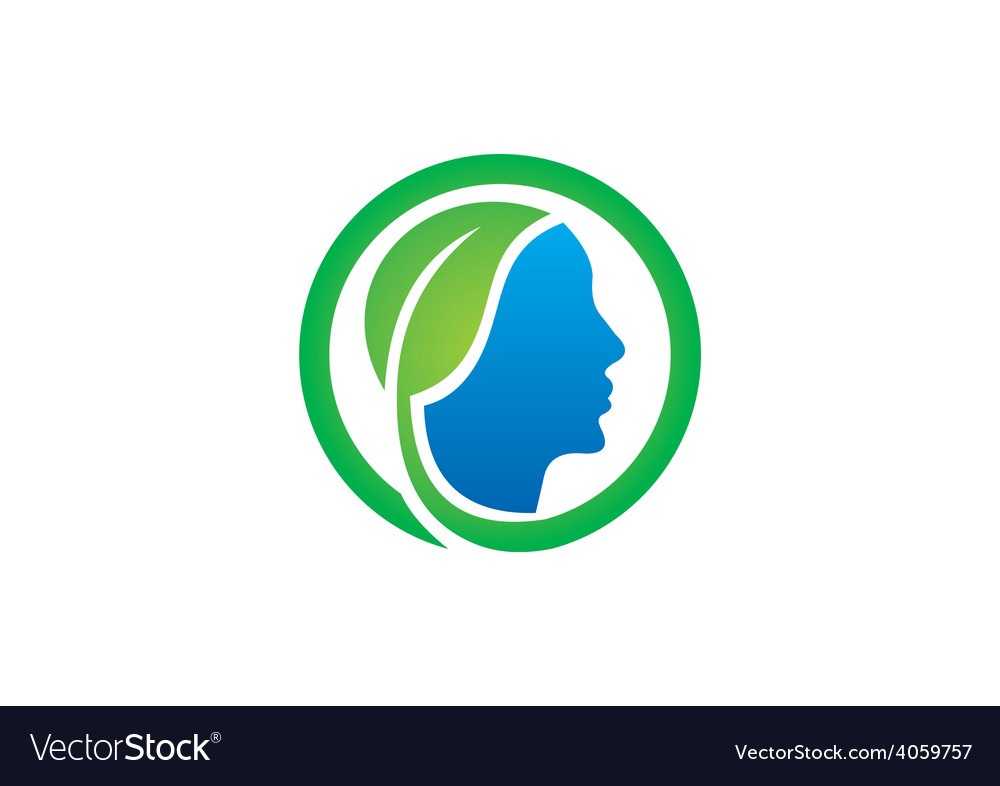 Eco people health bio logo vector | Price: 1 Credit (USD $1)