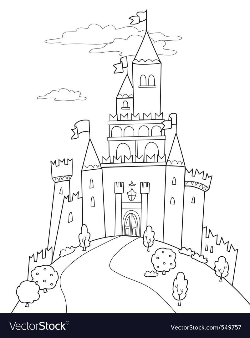 Fairy tale castle vector   Price: 1 Credit (USD $1)