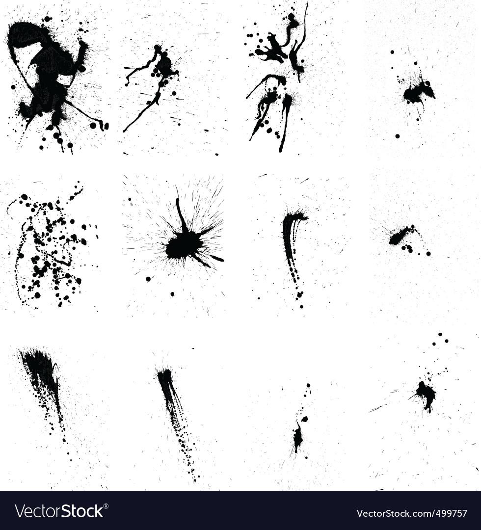 Grunge background set vector | Price: 1 Credit (USD $1)