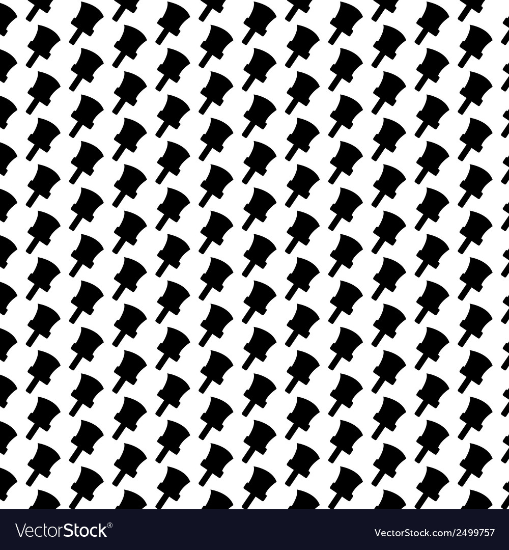 Seamless pattern background of brush vector | Price: 1 Credit (USD $1)