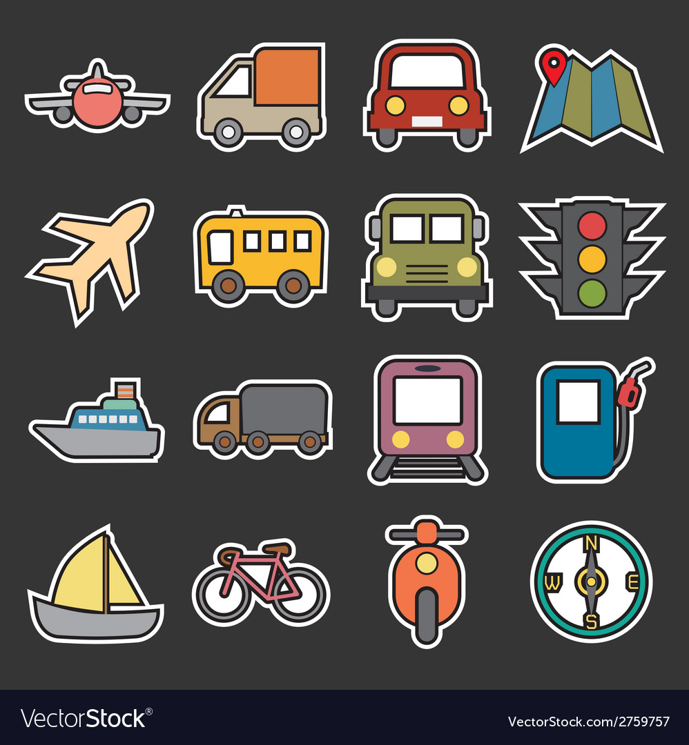 Transport icon vector | Price: 1 Credit (USD $1)