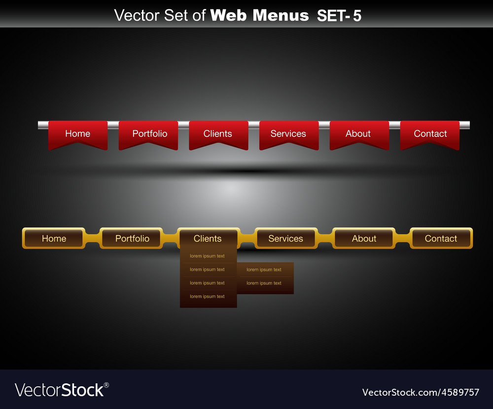 Web banner vector | Price: 1 Credit (USD $1)