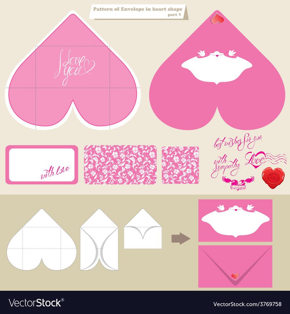Envelope love 1 380 vector | Price: 1 Credit (USD $1)