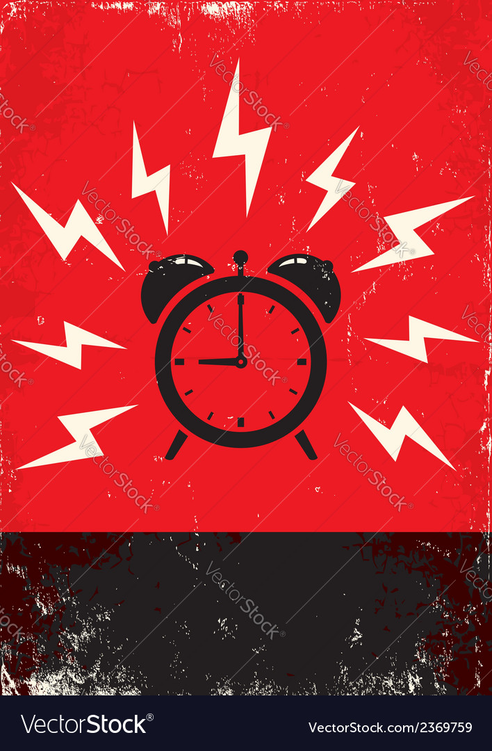 Alarm vector | Price: 1 Credit (USD $1)
