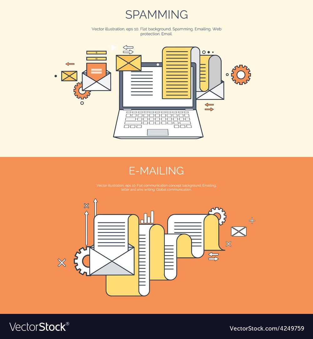 Flat computing background vector | Price: 1 Credit (USD $1)