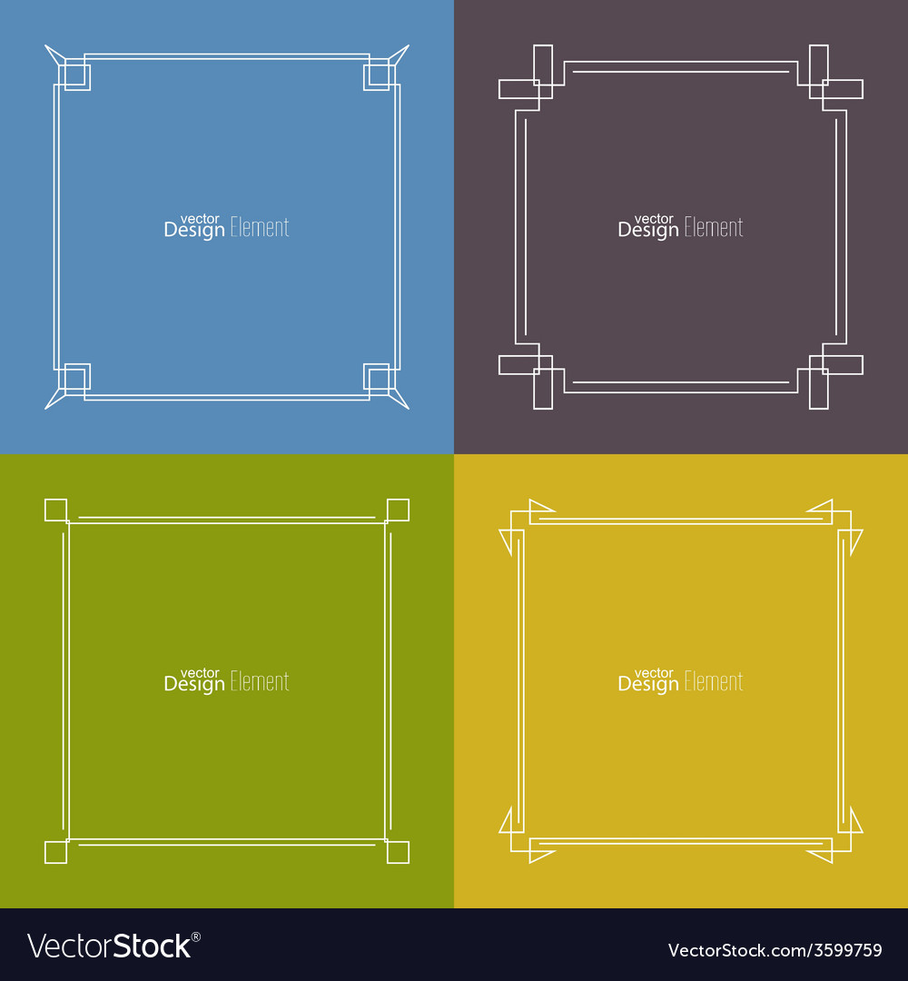 Set of frame vector | Price: 1 Credit (USD $1)