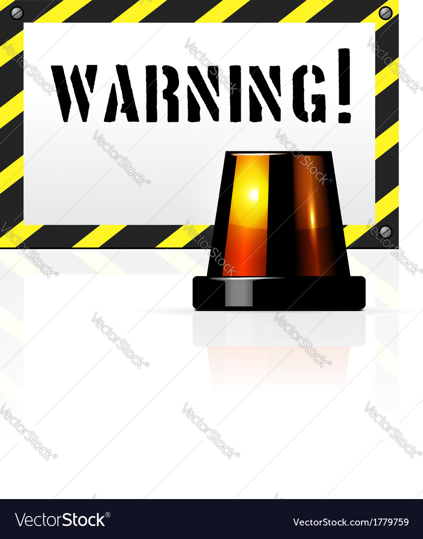 Warning background vector | Price: 1 Credit (USD $1)