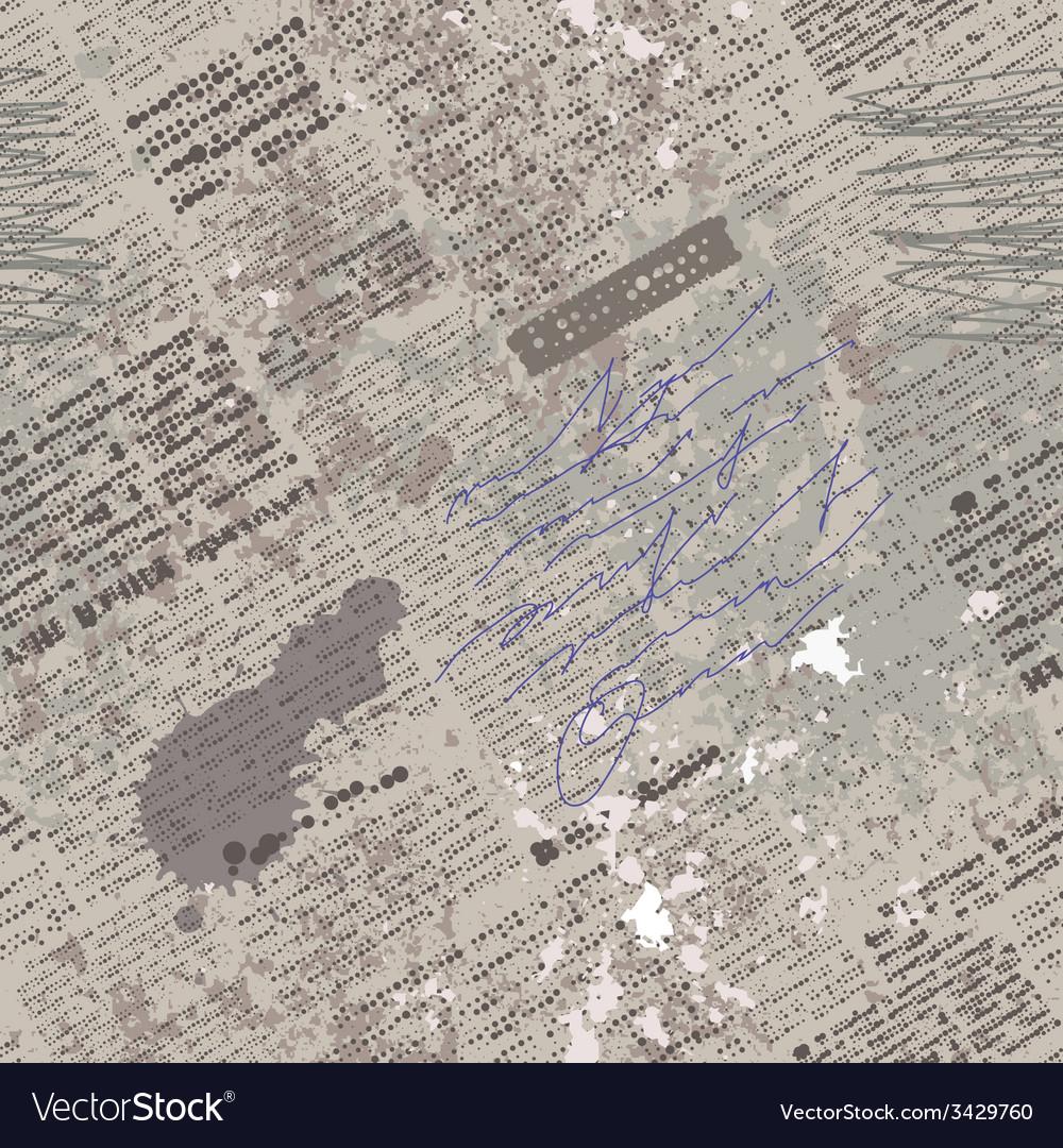 Gruge newspaper vector | Price: 1 Credit (USD $1)