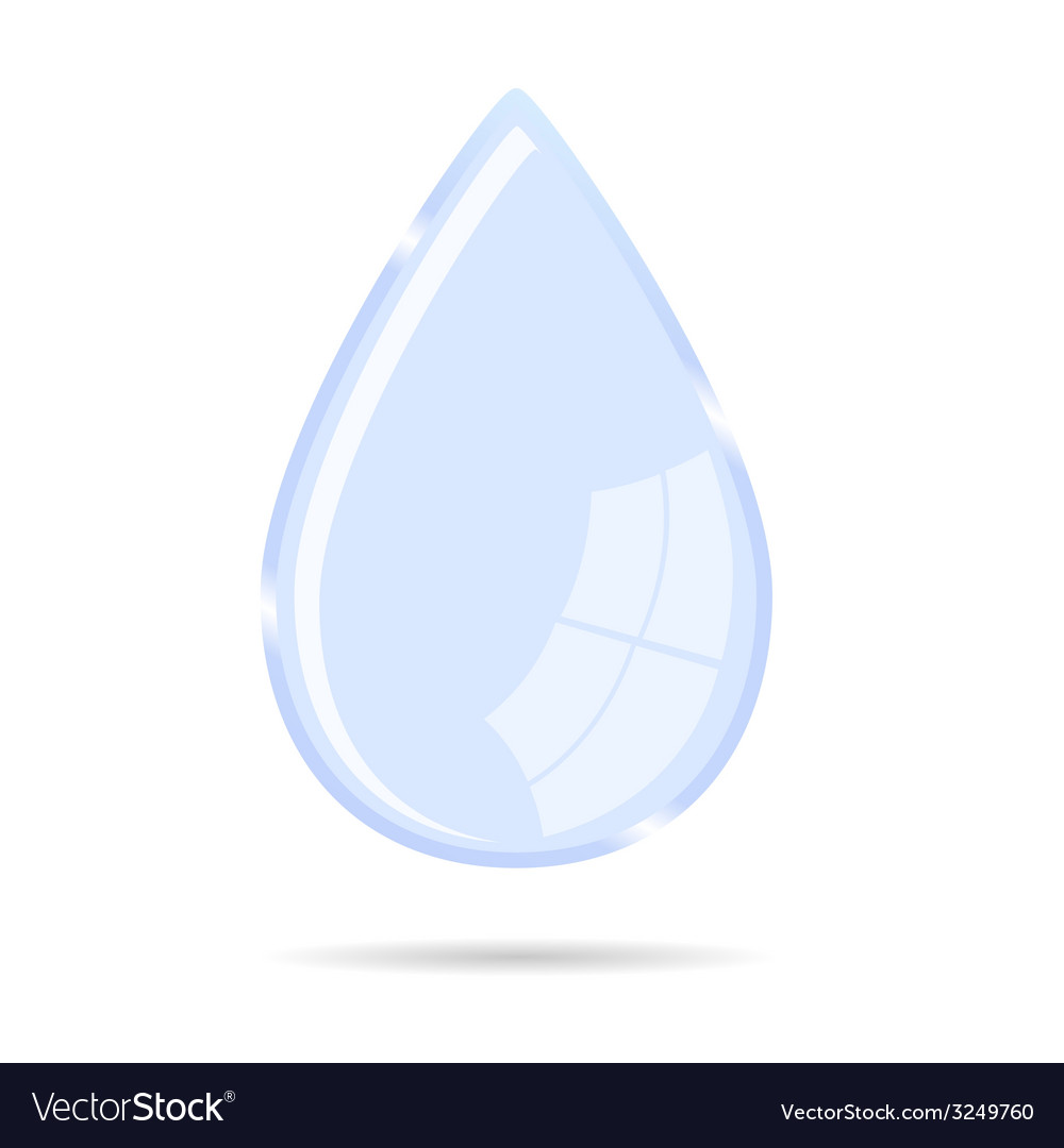 Waterdrop icon vector | Price: 1 Credit (USD $1)