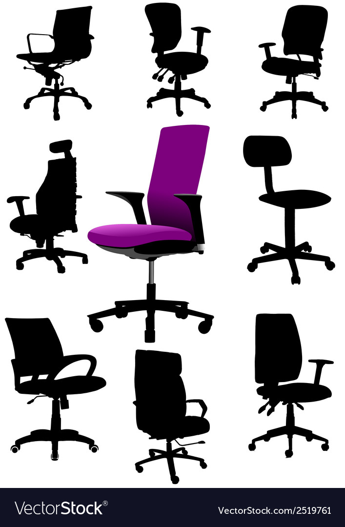 Al 0326 office chair vector | Price: 1 Credit (USD $1)