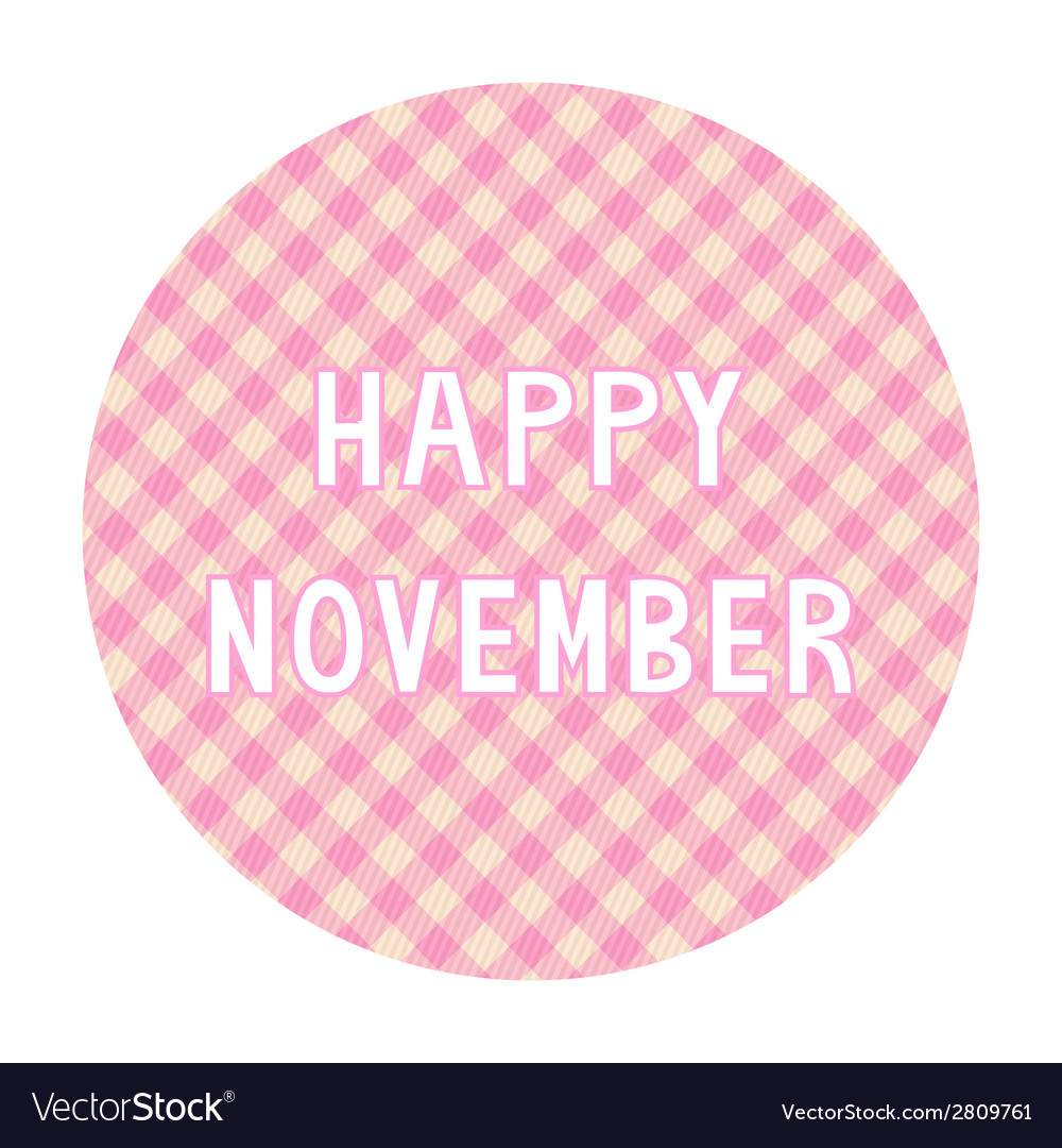 Happy november background4 vector | Price: 1 Credit (USD $1)