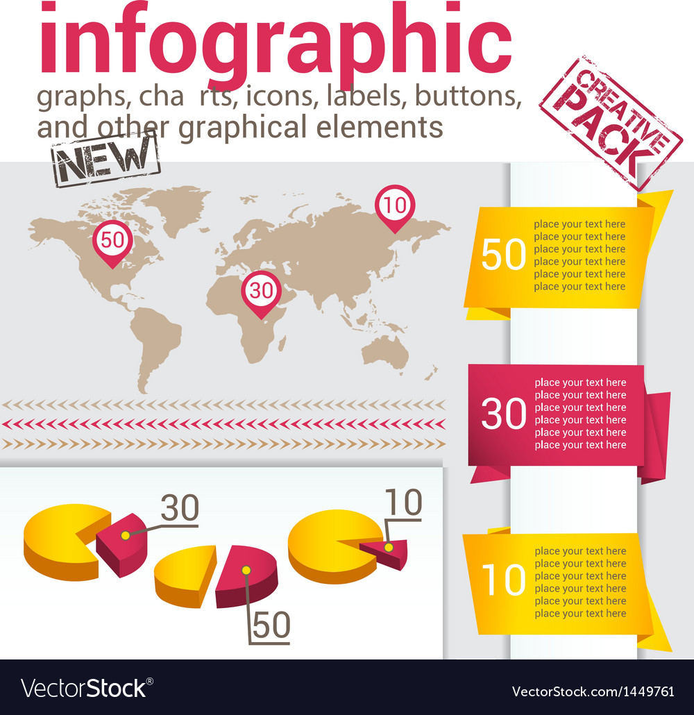 Infografic set vector | Price: 1 Credit (USD $1)