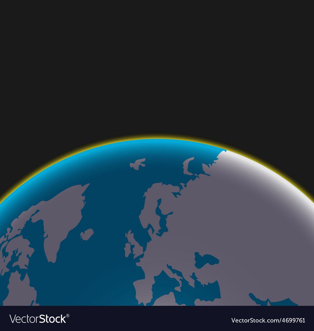Modern earth background vector | Price: 1 Credit (USD $1)
