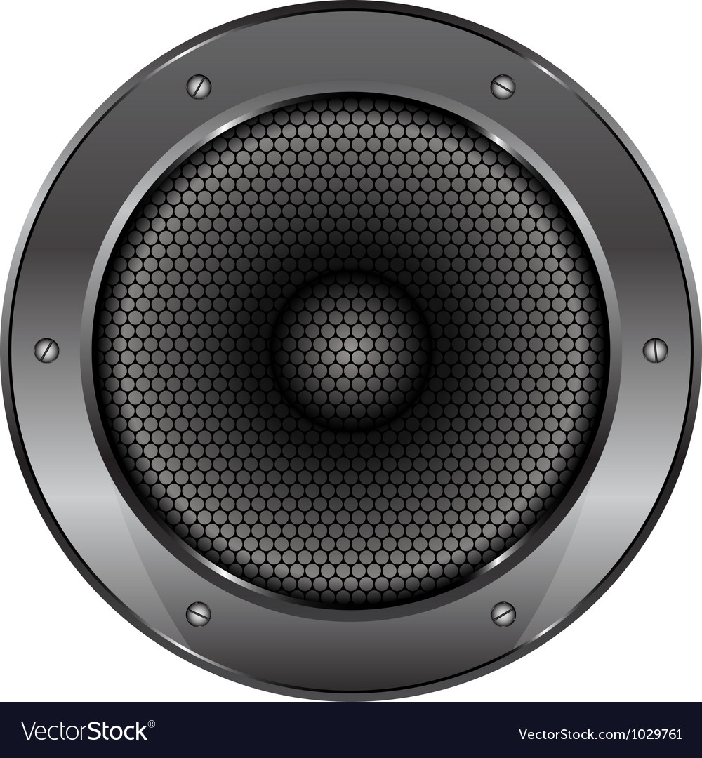 Sound speaker vector | Price: 1 Credit (USD $1)