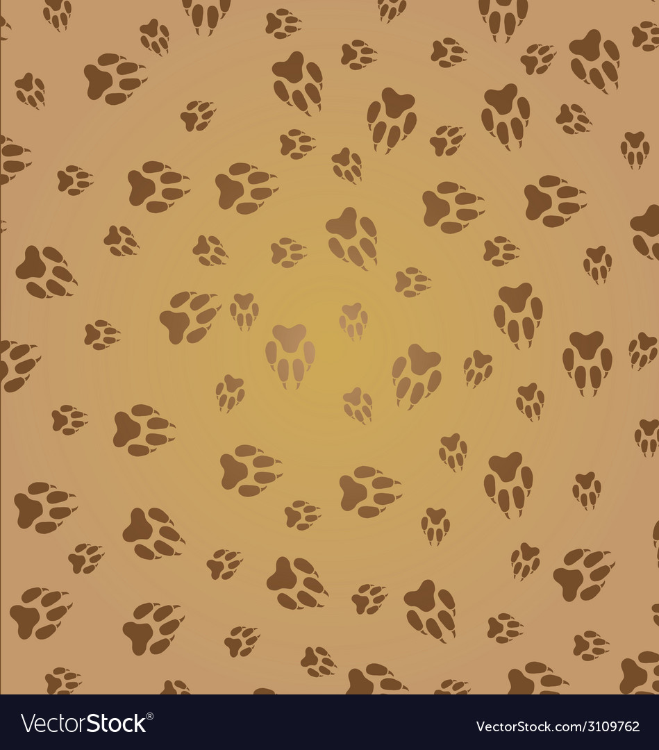 Animal paw vector | Price: 1 Credit (USD $1)