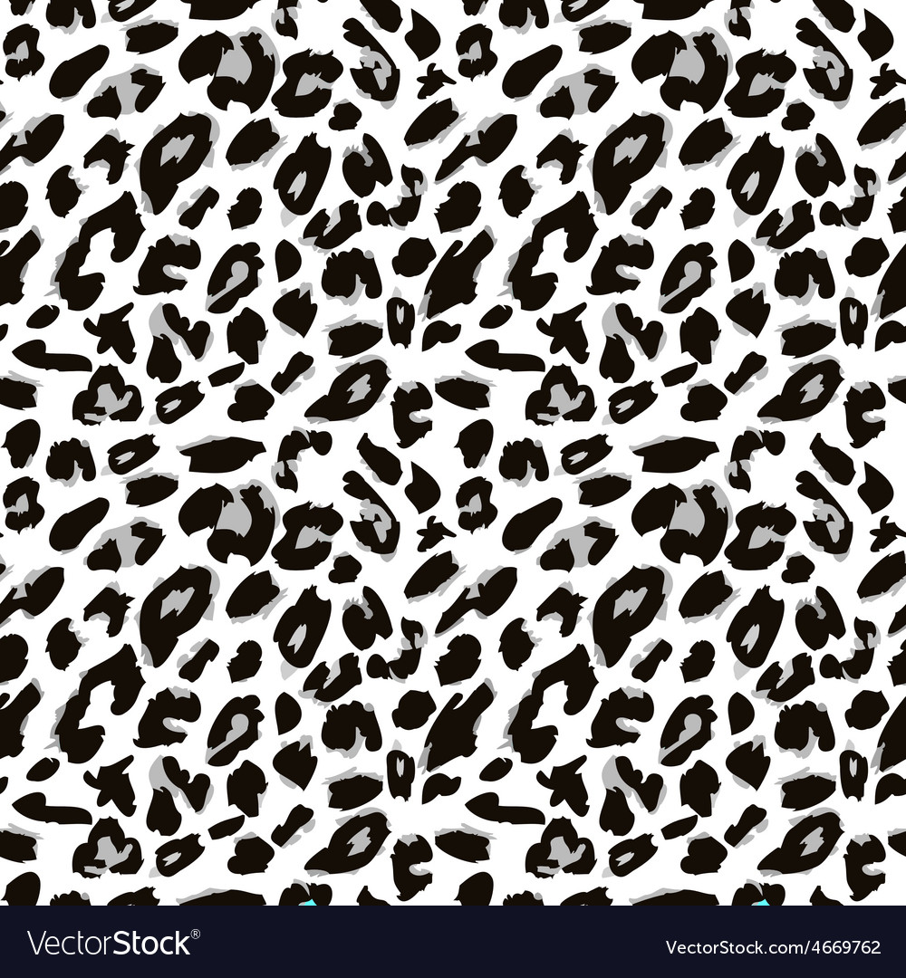 Leopard skin print pattern seamless animal fur vector | Price: 1 Credit (USD $1)