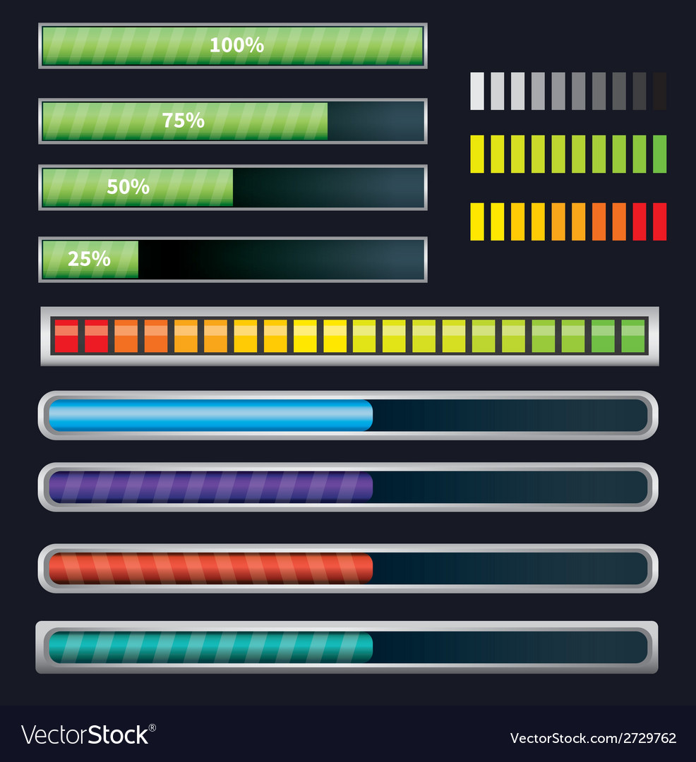 Loading and buffering bar vector   Price: 1 Credit (USD $1)