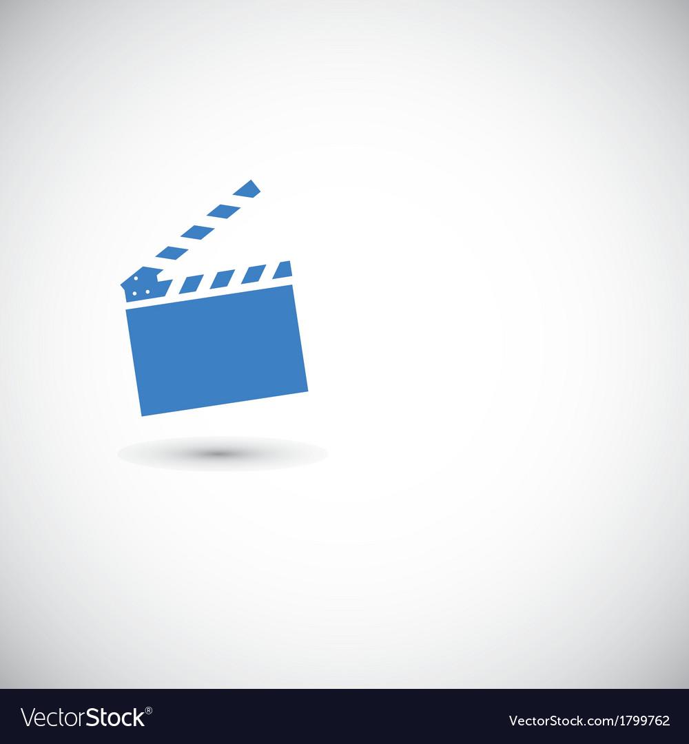 Movie clapper board vector | Price: 1 Credit (USD $1)