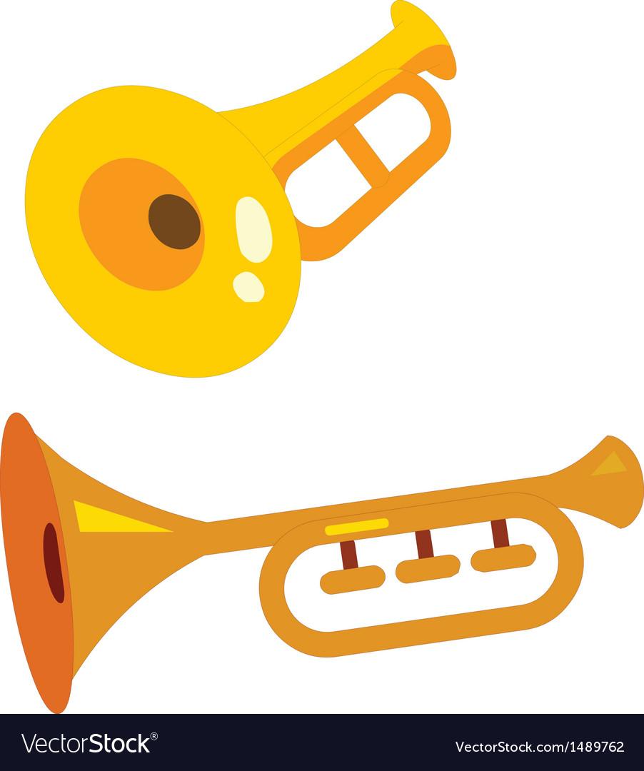 Trumpeter vector | Price: 1 Credit (USD $1)