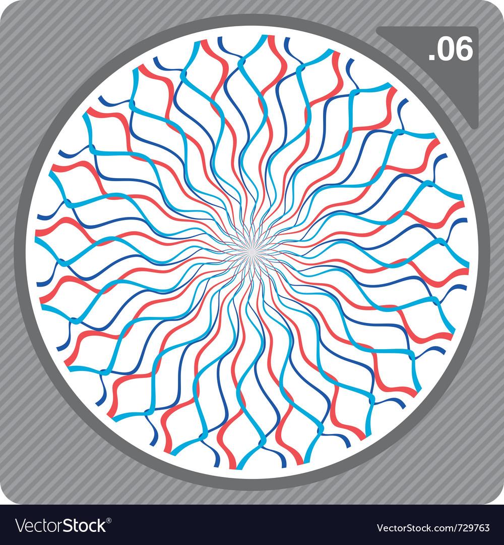 Abstract circular decorative ornament vector   Price: 1 Credit (USD $1)