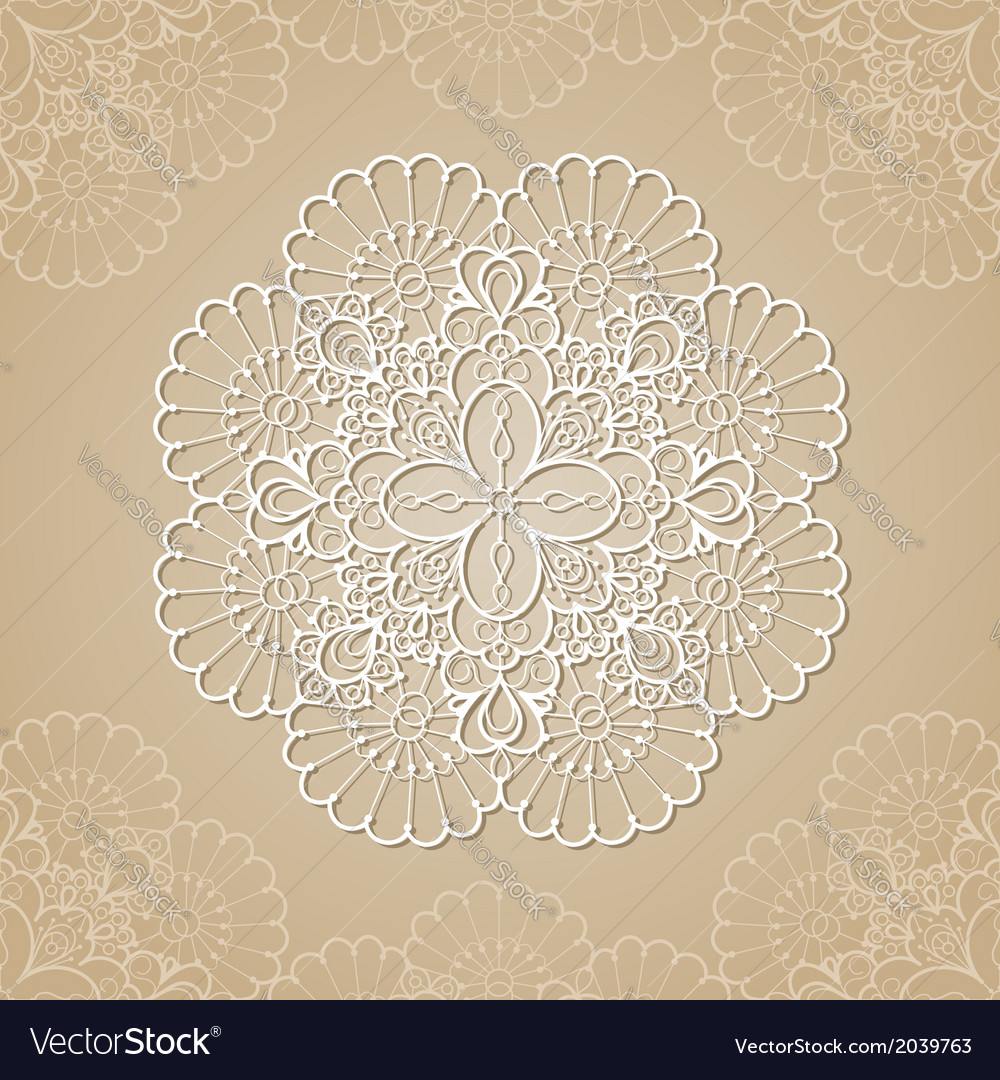 Lace background vector   Price: 1 Credit (USD $1)