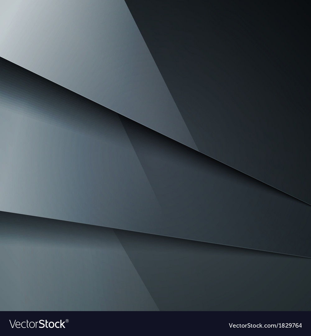 Abstract background with dark gray metal layers vector   Price: 1 Credit (USD $1)