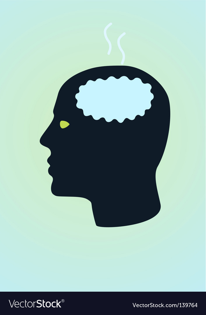 Fried brain vector | Price: 1 Credit (USD $1)