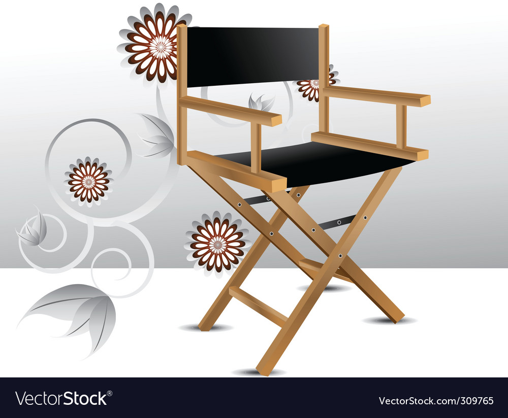 Director chair vector | Price: 1 Credit (USD $1)