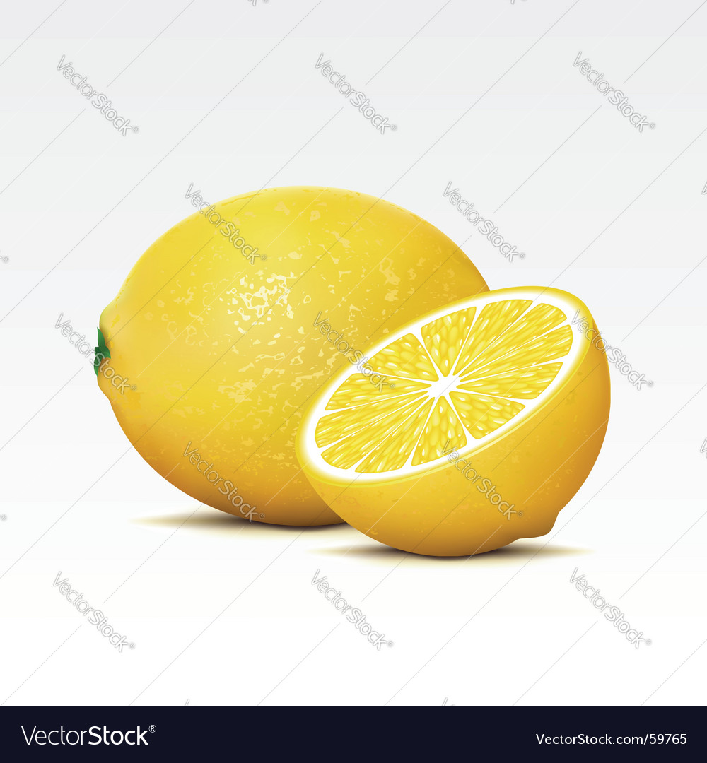 Lemons vector | Price: 3 Credit (USD $3)